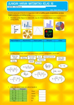 Interactive worksheet UH Statistika