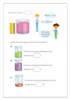 Interactive worksheet Mediciones