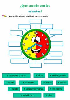 Interactive worksheet La hora- 2