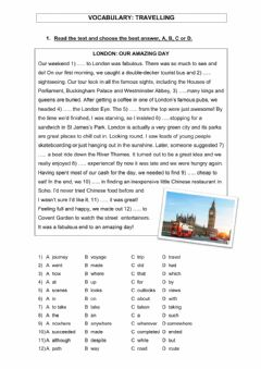 Ficha interactiva Travel vocabulary