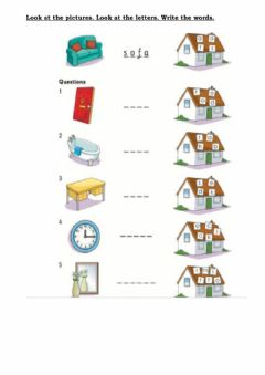 Interactive worksheet Revision units 0 to 4