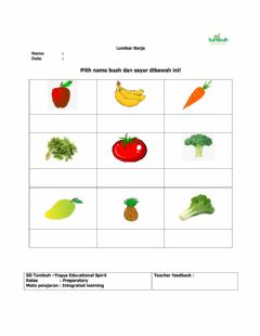 Interactive worksheet Integrated Learning