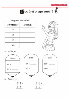 Interactive worksheet Doble
