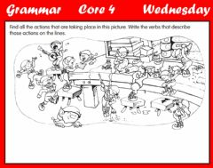 Ficha interactiva Grammar - Types of Verbs B