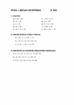 Interactive worksheet Ficha 1 Repaso