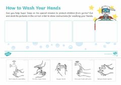 Interactive worksheet Hand washing
