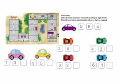Interactive worksheet Carrera de autos