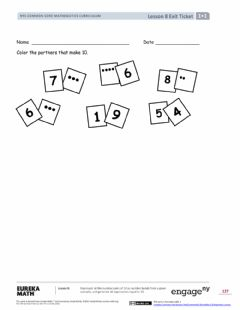 Interactive worksheet Module 1 Lesson 8 Exit luency