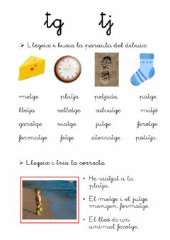 Interactive worksheet Lectura tg-tj