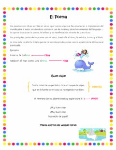 Interactive worksheet El poema