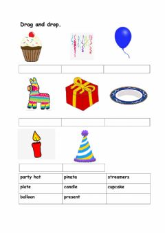 Interactive worksheet Party