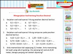 Interactive worksheet Tugas Matematika