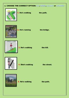 Interactive worksheet Look and Choose. Listen and Draw lines.