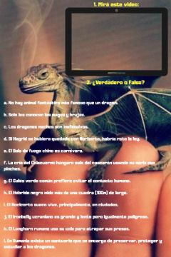 Interactive worksheet Especial DRAGONES
