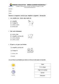 Interactive worksheet Diagnostico 4to EGB