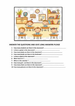 Interactive worksheet There - How many