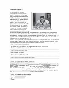 Interactive worksheet Consolidation unit 3 achievers A2