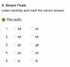 Interactive worksheet Simple Finals 1
