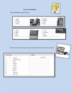 Interactive worksheet Gramatica