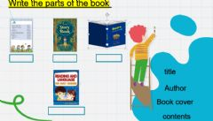 Interactive worksheet Parts of the book