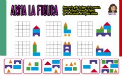 Interactive worksheet Arma la figura