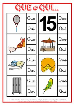Interactive worksheet Que o qui
