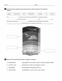 Interactive worksheet Unit 3 review weather and climate