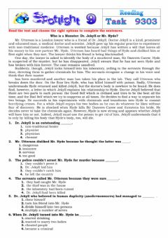 Interactive worksheet Spotlight 9 Task 9303