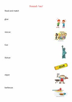 Interactive worksheet Ue sound