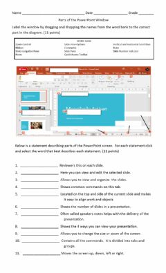 Interactive worksheet PowerPoint