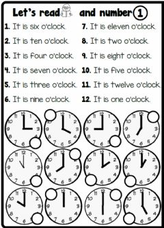 Interactive worksheet 4.5. My Day - What Time Is It?