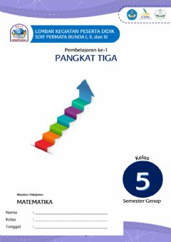 Interactive worksheet Pangkat Tiga SD IT Permata Bunda