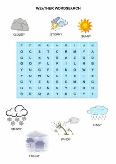 Interactive worksheet Weacher wordsearch