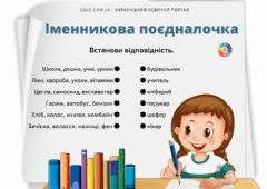 Interactive worksheet Іменник
