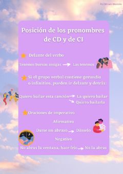 Interactive worksheet Pronombres CD CI