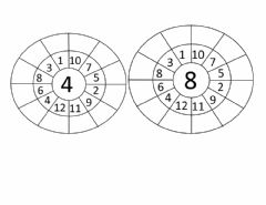 Ficha interactiva Tables 4 and 8