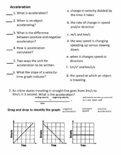 Interactive worksheet PS-09-Acceleration