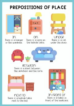Interactive worksheet Prepositions of place