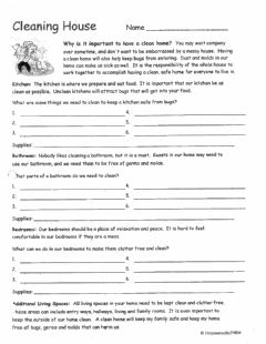 Interactive worksheet Life Skills Worksheet
