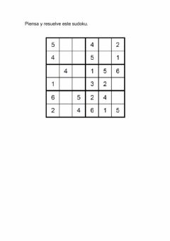 Interactive worksheet Sudoku 15