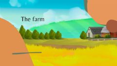 Interactive worksheet The Farm 1r de primària