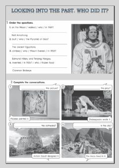 Interactive worksheet Looking into the past