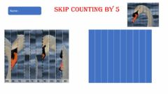 Ficha interactiva Skip counting by 5