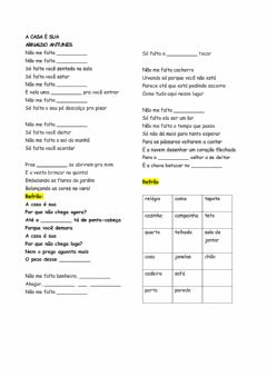 Interactive worksheet A casa