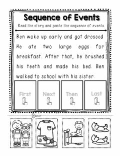 Interactive worksheet Sequencing Worksheet