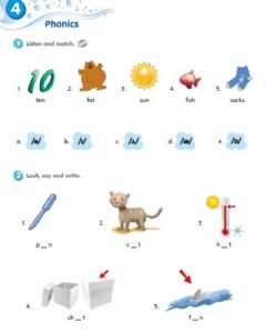 Phonics Worksheets And Online Exercises