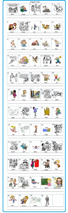 Interactive worksheet Write the past form of the verb