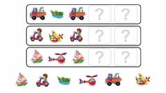 Interactive worksheet Series lógicas medios de transporte