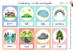 Interactive worksheet Vocabulary - In the countryside