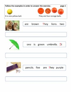 Interactive worksheet Adjectives colours and numbers2